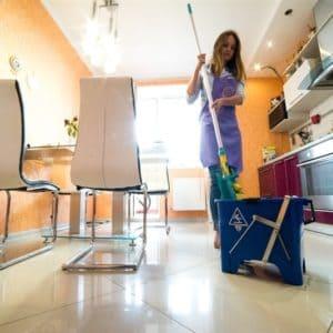 Уборка помещения кухни