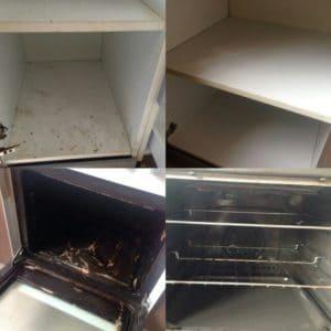 Уборка в кухонных шкафах